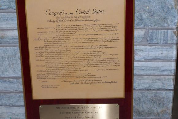 Symbol of Freedom Award